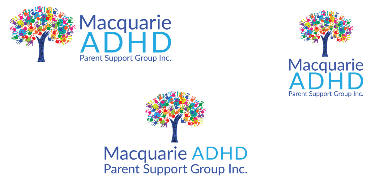 Logo branding of ADHD Macquarie